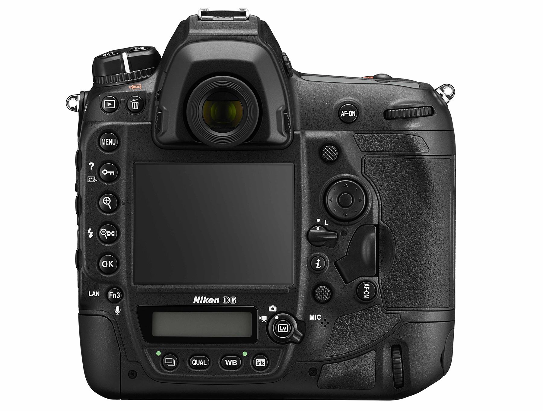Nikon D6 back