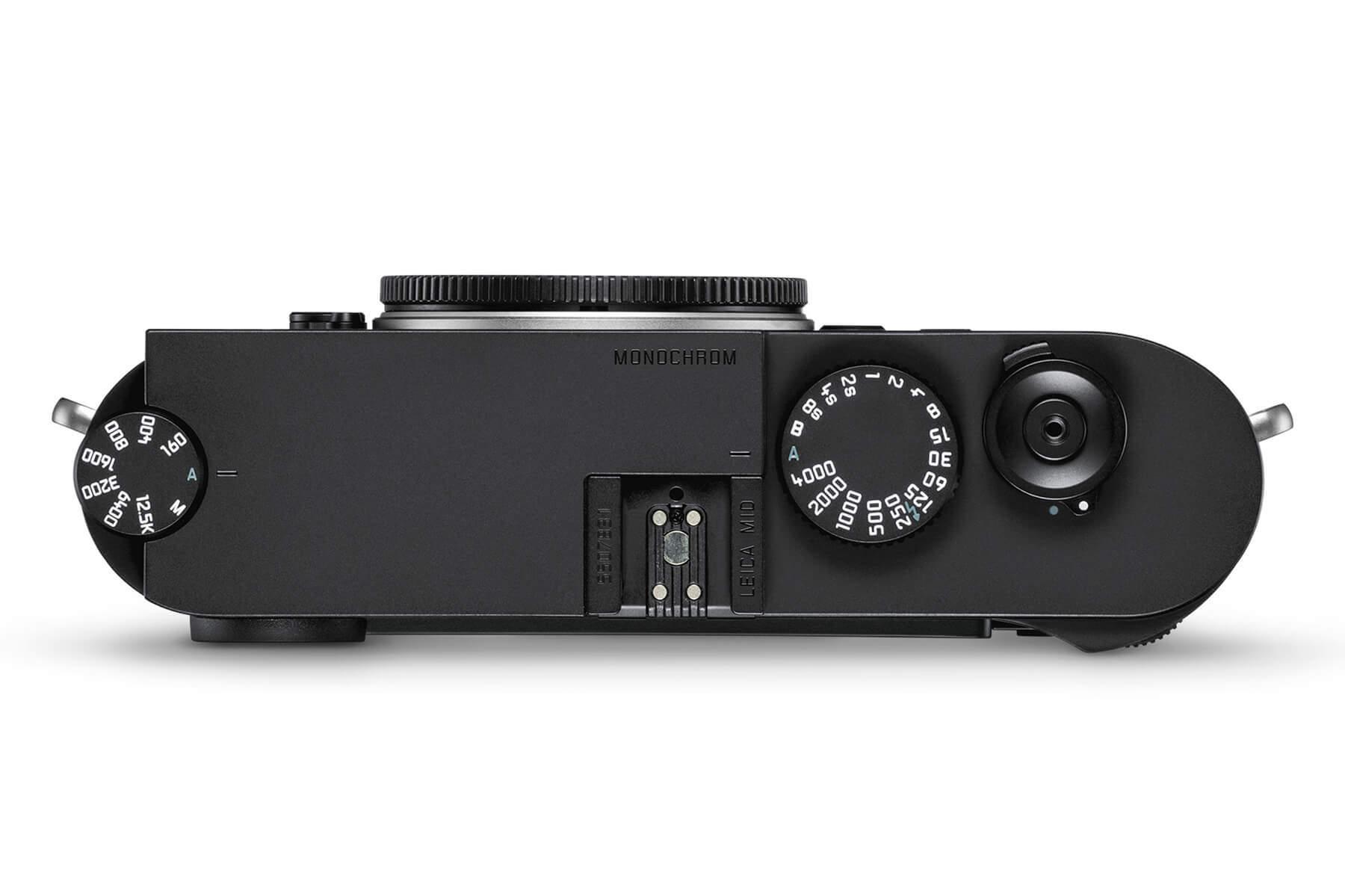 Leica M10 Monochrom top