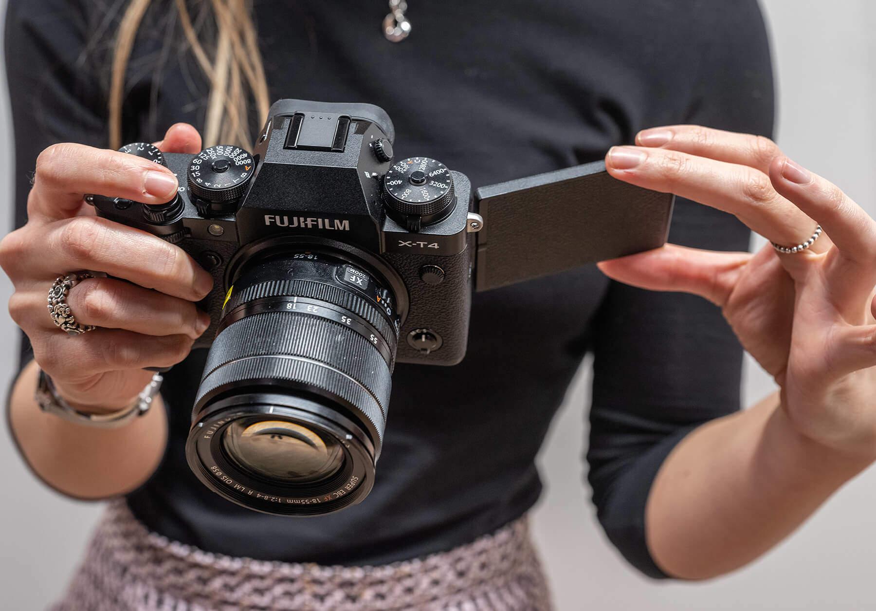 Fujifilm X-T4 hands on