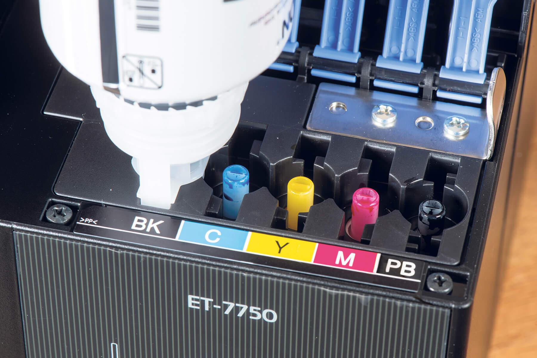 Epson EcoTank ET-7750 refill