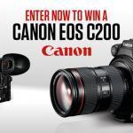 Win a Canon EOS C200