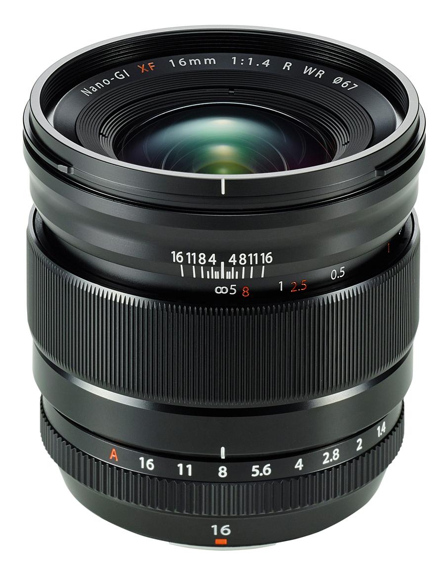 Fujifilm XF16mm f/ 1.4 R WR