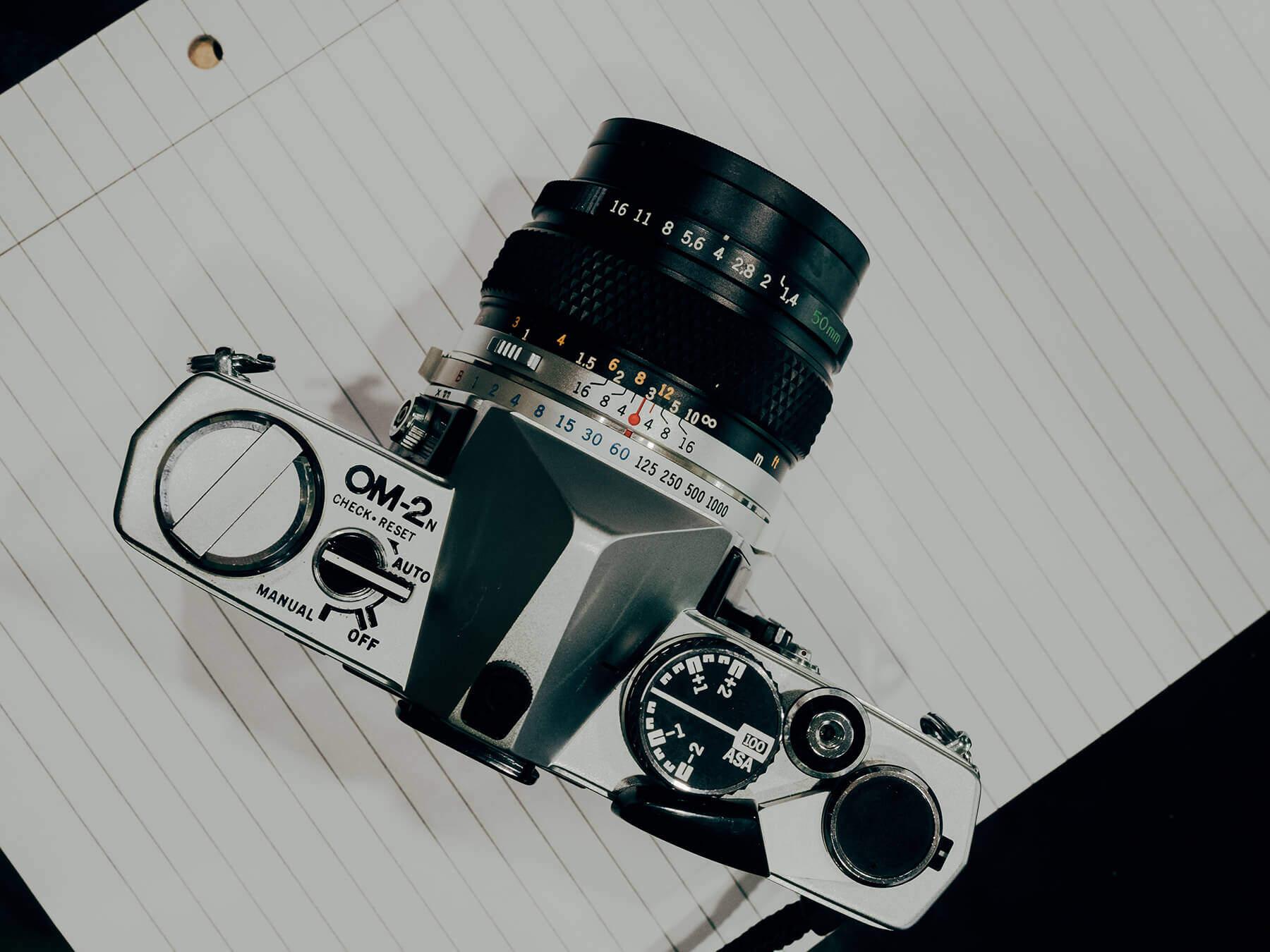 Best vintage film cameras: Olympus OM-2
