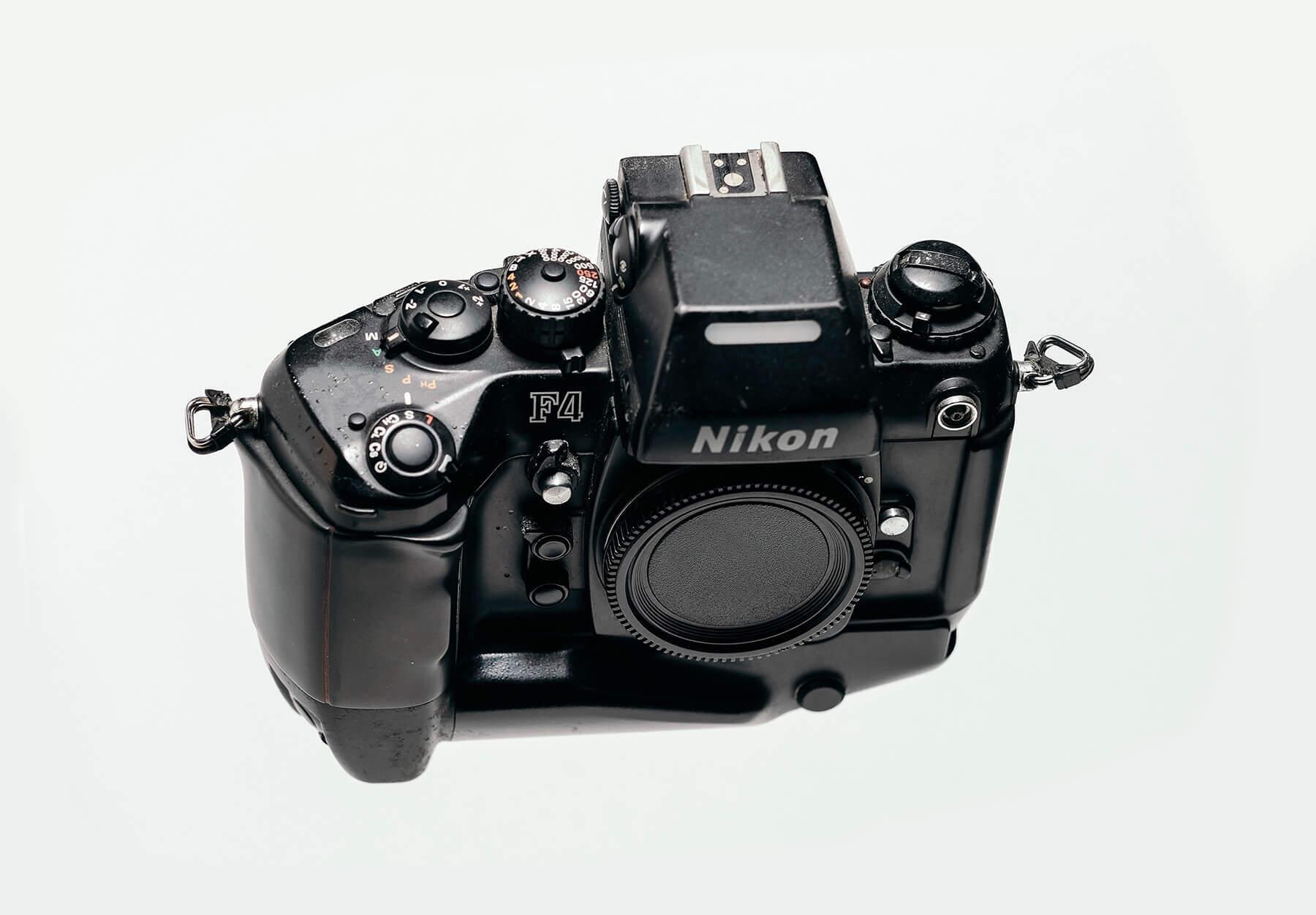 Best vintage film cameras: Nikon F4