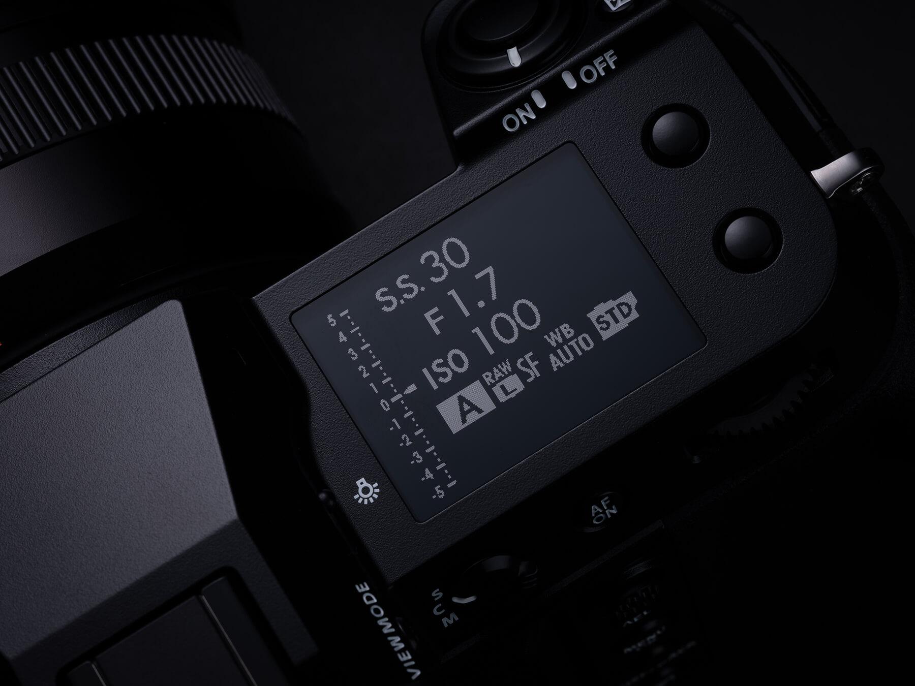 Fujifilm GFX100S sub monitor
