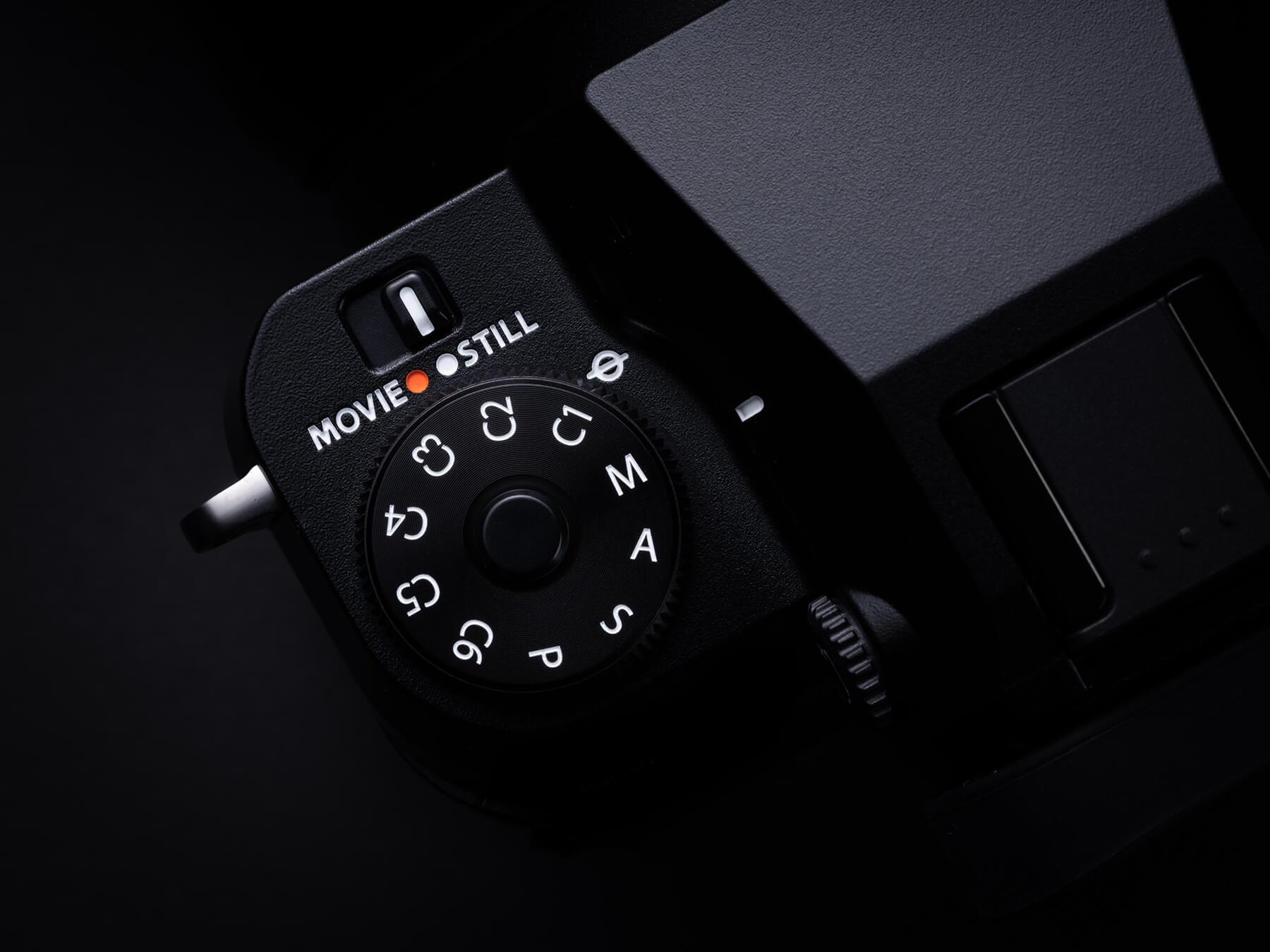Fujifilm GFX100S drive dial
