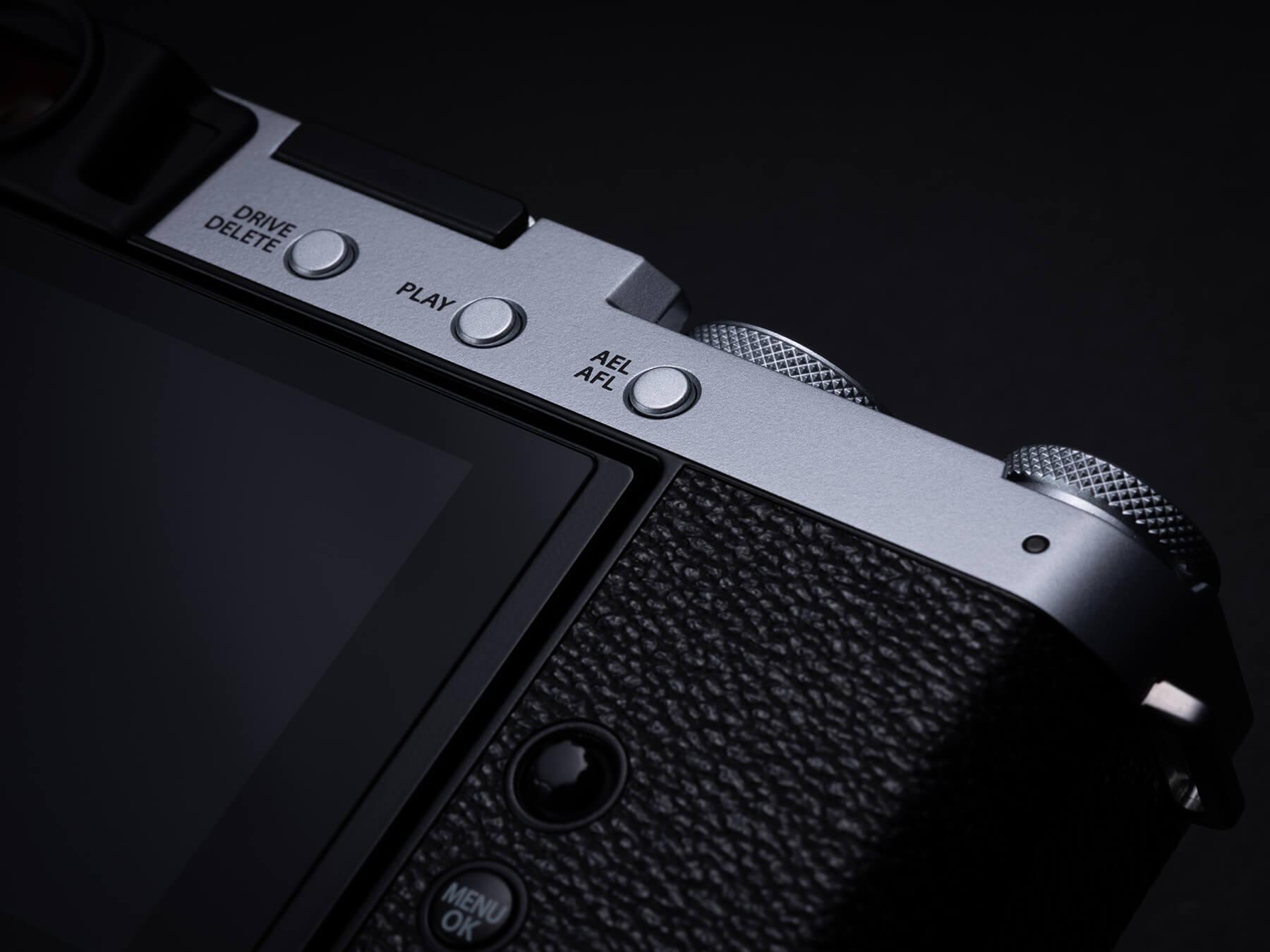 Fujifilm X-E4 back