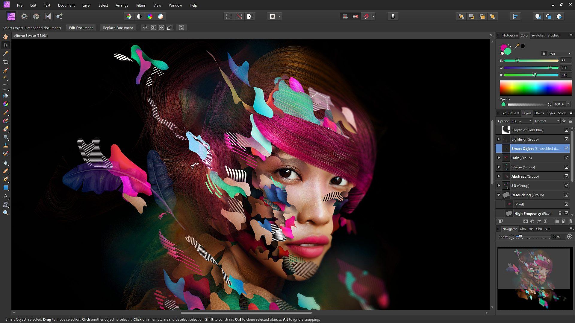 affinity photo layers