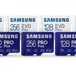 Samsung microSD memory cards