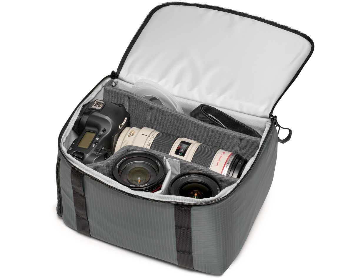 Removable camera compartment